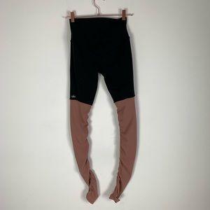 ALO Yoga Pants - ALO YOGA Ribbed Goddess Legging High Waisted Black